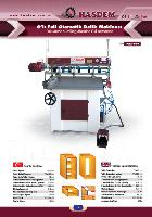 6 Lı Pinomatik Delik Makinası