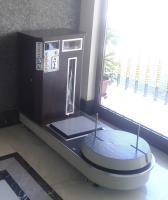 Jetonlu Otel Bagaj Paketleme Makinesi