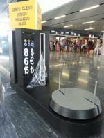 Numaratörlü Otel Bagaj Paketleme Makinesi