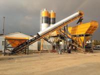 Mobil Beton Santrali 100 M3 H - Mobile Concrete Batching Plant