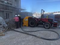 Tractors Screed Machines - Traktörlü Şap Makinası
