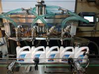 Antifriz Dolum Makinası Tam Otomatik 4 Nozullu