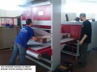 45x145 Shrink Ambalaj Paketleme Makinası Koli Kutu Matbaa