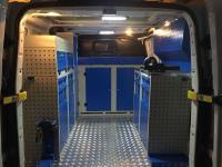 Ford Transit Araç İçi Kabin Donanımı