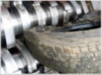 Hurda Otomobil Lastiği Geri Dönüşüm Makinası - foto